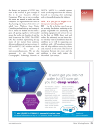 Marine Technology Magazine, page 21,  Nov 2006 offshore oil