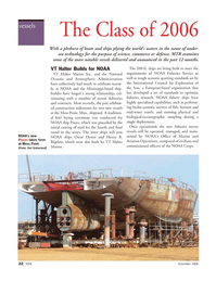 Marine Technology Magazine, page 22,  Nov 2006 Don Sutherland