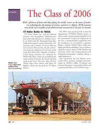 Marine Technology Magazine, page 22,  Nov 2006