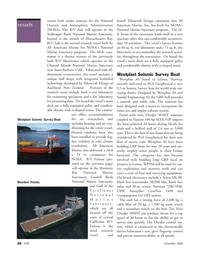 Marine Technology Magazine, page 26,  Nov 2006 central California