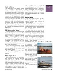 Marine Technology Magazine, page 27,  Nov 2006 SC District