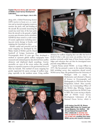 Marine Technology Magazine, page 30,  Nov 2006 Michigan
