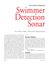 Marine Technology Magazine, page 34,  Nov 2006 signal processing systems