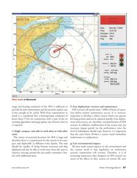Marine Technology Magazine, page 37,  Nov 2006 art tracking algorithm
