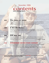 Marine Technology Magazine, page 2,  Nov 2006