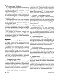 Marine Technology Magazine, page 40,  Nov 2006 Wideband technology