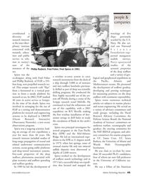 Marine Technology Magazine, page 45,  Nov 2006 Mediterranean