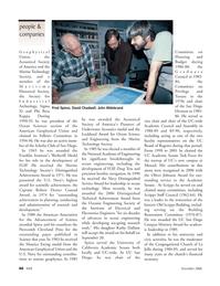 Marine Technology Magazine, page 46,  Nov 2006 David Chadwell