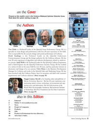 Marine Technology Magazine, page 3,  Nov 2006 Rob Howard