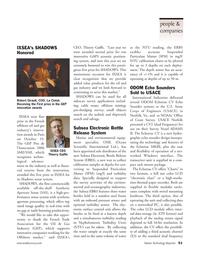 Marine Technology Magazine, page 51,  Nov 2006 Shadows sonar system