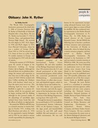 Marine Technology Magazine, page 53,  Nov 2006 Belding