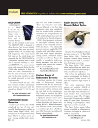 Marine Technology Magazine, page 54,  Nov 2006 stand-alone product