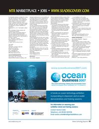 Marine Technology Magazine, page 57,  Nov 2006 Gulf coast