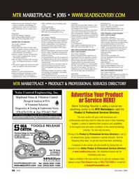 Marine Technology Magazine, page 58,  Nov 2006 Control Engineering