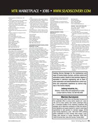 Marine Technology Magazine, page 61,  Nov 2006 Mark Batenchuk
