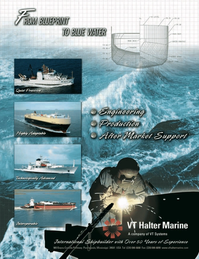 Marine Technology Magazine, page 3rd Cover,  Nov 2006