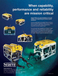 Marine Technology Magazine, page 4th Cover,  Nov 2006