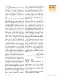 Marine Technology Magazine, page 5,  Nov 2006 Maggie Merrill