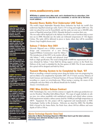 Marine Technology Magazine, page 6,  Nov 2006