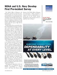 Marine Technology Magazine, page 7,  Nov 2006