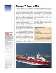Marine Technology Magazine, page 10,  Jan 2007