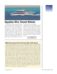 Marine Technology Magazine, page 11,  Jan 2007 Massachusetts