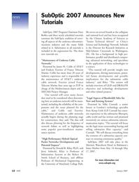 Marine Technology Magazine, page 12,  Jan 2007