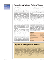 Marine Technology Magazine, page 14,  Jan 2007 oil equivalents