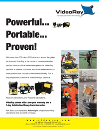 Marine Technology Magazine, page 2nd Cover,  Jan 2007 United States