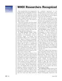 Marine Technology Magazine, page 18,  Jan 2007