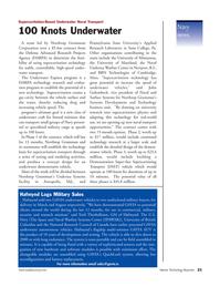 Marine Technology Magazine, page 21,  Jan 2007