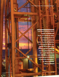 Marine Technology Magazine, page 23,  Jan 2007 mining
