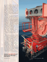 Marine Technology Magazine, page 25,  Jan 2007 Papua New Guinea
