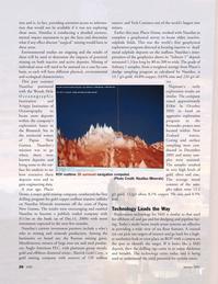 Marine Technology Magazine, page 26,  Jan 2007
