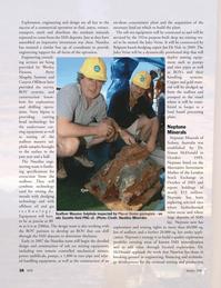 Marine Technology Magazine, page 28,  Jan 2007
