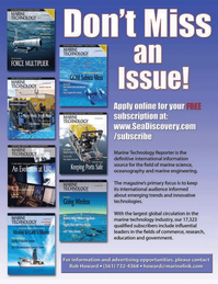 Marine Technology Magazine, page 33,  Jan 2007