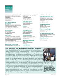 Marine Technology Magazine, page 44,  Jan 2007