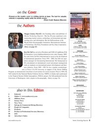Marine Technology Magazine, page 3,  Jan 2007
