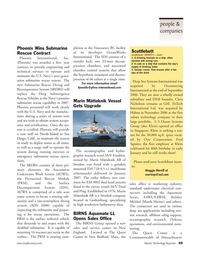 Marine Technology Magazine, page 49,  Jan 2007 Franklin