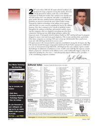 Marine Technology Magazine, page 4,  Jan 2007