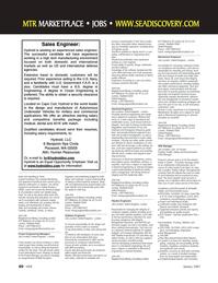 Marine Technology Magazine, page 60,  Jan 2007
