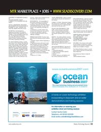Marine Technology Magazine, page 63,  Jan 2007