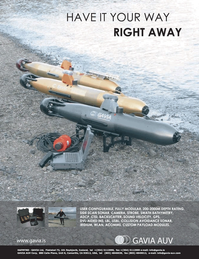 Marine Technology Magazine, page 3rd Cover,  Jan 2007