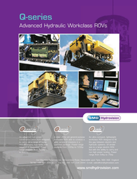 Marine Technology Magazine, page 5,  Jan 2007 Advanced Hydraulic Workclass ROVs Soil Machine Dynamics Ltd
