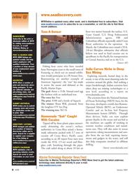 Marine Technology Magazine, page 6,  Jan 2007
