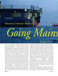 Marine Technology Magazine, page 24,  Mar 2007 the-art technology