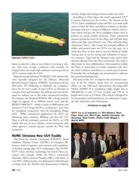 Marine Technology Magazine, page 26,  Mar 2007 Jennifer Olszewski