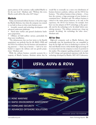 Marine Technology Magazine, page 31,  Mar 2007 furthering its systems