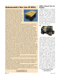 Marine Technology Magazine, page 42,  Mar 2007