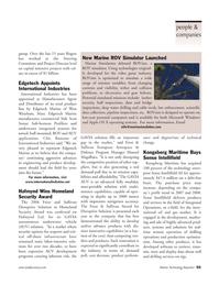 Marine Technology Magazine, page 55,  Mar 2007 Using technologies